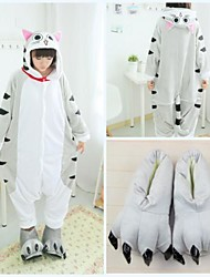 cheap -Kigurumi Pajamas with Slippers Men's Women's Christmas Halloween Carnival New Year Festival / Holiday Halloween Costumes Gray