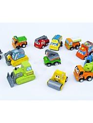 Недорогие -12 х милый пластиковый игрушечный автомобиль задержать их и смотреть их пойти