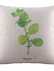 cheap -1 pcs Cotton/Linen Pillow Cover, Nature Country