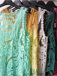 Недорогие -Co Co шею рубашку кружева сетки Чжан женщин