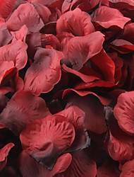 Dark Red And Black Rose Petals Table Decoration (Set of 100 Petals)