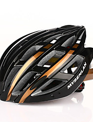 cheap -Mysenlan Adults Bike Helmet 24 Vents CE Impact Resistant Mesh, EPS, PC Sports Road Cycling / Cycling / Bike / Winter Sports - Red black / Light Blue / Black+Golden Men's
