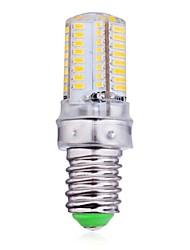 ywxlight® e14 led corn lights 64 led smd 3014 bianco caldo bianco freddo 300lm 2800-3200k ac 220-240v