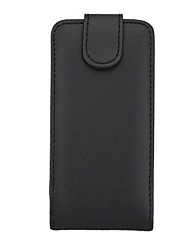 Solid Color Pattern Open Up and Down PU Leather Full Body Case for Nokia Lumia 520