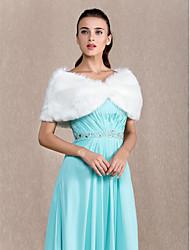 economico -Piume/Pelliccia Da sera Coprispalle in pelliccia Wraps Wedding With Perline Coprispalle