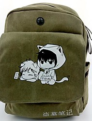 Borsa Ispirato da Cosplay Cosplay Anime Accessori Cosplay Borsa / zaino Verde Tela / Nylon Uomo