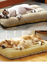 Недорогие -Large Dog Pet Nest with Lamb Suede Mat  70*50