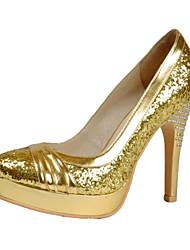 cheap -Women's Shoes Platform Stiletto Heel Pumps Shoes Matching Evening Bag