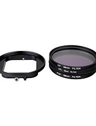 Недорогие -крышка объектива Для Экшн камера Gopro 5 Gopro 3+ Gopro 2