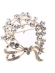 Недорогие -ювелирные изделия из круглого сплава для ювелирных изделий с бриллиантами для свадьбы
