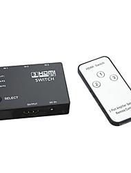 Недорогие -HDMI v1.3 3x1 сплиттер HDMI (3 в 1 выход) поддерживает 3d 1080p