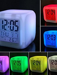 Coway Colorful Decompression LED Alarm Clock Nightlight High Quality