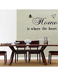 zooyoo®fashion materail vinil removível e árvore da cor adesivo de parede ramo decoração da casa preto decalque arte mural decoração da