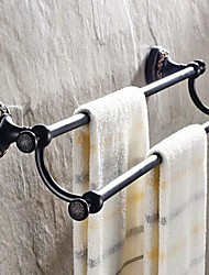 Towel Bar / Oil Rubbed Bronze Brass