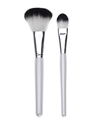 2 Brush Sets Nylon Børste Ansigt / Lip / Øjne Andre