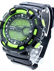 baratos -multi-funcional relógio de pulso banda de silicone dos homens (cores sortidas)