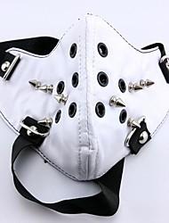 preiswerte -Maske Inspiriert von Tokyo Ghoul Cosplay Anime Cosplay Accessoires Maske Weiß PU Leder Mann