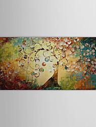 baratos -iarts®oil árvore pintura de paisagem da vida com telas pintadas à mão quadro esticado