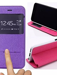 cheap -TPU New Smart Luxury Flip Leather Cover for iPhone 6/6S  (Assorted Colors)
