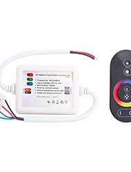 cheap -288W Wireless Smart RF Remote Touch RGB Controller for RGB Strip Lamp (DC 12-24V)