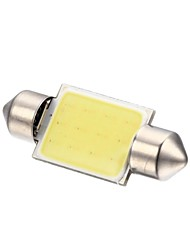 cheap -Festoon Car White 2W COB 6000-6500 Instrument Light Reading Light License Plate Light Turn Signal Light Door lamp