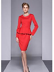 Недорогие -шею платье западный стиль одежды aosishan женщин
