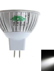 LED Spotlight MR16 3 Dip LED 280-300 lm Natural White 6000-6500 K Decorative DC 12 V