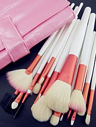 billige -18 Brush Sets Gedehårs Børste / Syntetisk Hår / Nylon Børste / Andre Lip / Øjne / Ansigt Andre