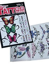 abordables -insecte professionnel livre de modèle de tatouage