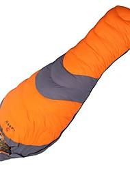 Hasky Saco de dormir Tipo Múmia Penas de Pato -10°C°C Manter Quente Á Prova de Humidade Prova-de-Água A Prova de Vento 210X80 Campismo