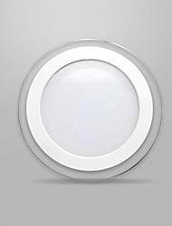 12w maschera di vetro rotondo pannello LED SMD 5730 mini lampada della cucina ha portato plafoniere AC85-265V