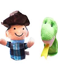 Пальцевая кукла Змея / Игрушки Специальная модель Хобби и досуг Для мальчиков / Для девочек Текстиль / Плюш