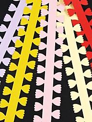 cheap -5PCS 3cm x 51cm Petal Shaped Flower Petal Quilling Paper Set Creative DIY Origami Paper-Rolling