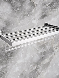 cheap -Towel Bar High Quality Contemporary Stainless Steel 1 pc - Hotel bath Double