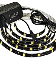 JIAWEN® Waterproof 2.5M 12W 150x5050SMD Warm White/White LED Flexible Strip Light + 2A Power (AC 110-240V)
