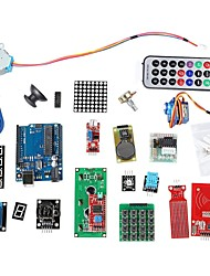 cheap -RFID System Learning Kit w/UNO R3 Step Motor RFID Module RFID IC Card RFID IC Keychain Based for Arduino