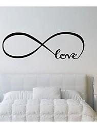 economico -Astratto Romanticismo Parole e citazioni Fantasia Adesivi murali Adesivi aereo da parete Adesivi decorativi da parete, Vinile Decorazioni
