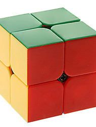 Rubik's Cube QIYI Smooth Speed Cube 2*2*2 Speed Professional Level Magic Cube ABS New Year Christmas Children's Day Gift