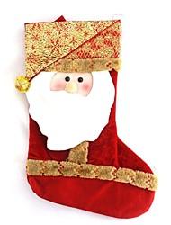 High-end Stereo Santa Christmas Stocking (Set of  12)
