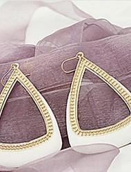 economico -Orecchino Orecchini a goccia Gioielli Da donna Lega 2 pezzi Argento