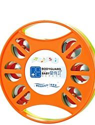 Недорогие -высокое качество музыки бубен круглый мультфильм барабан руки ребенка кольцо колокол колокольчик игрушки развивающие игрушки
