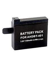 G-665   AHDBT-401 3.8V 1160mAh Li-ion Polymer Battery for GoPro HD Hero 4