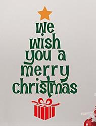 jiubai® arbre de Noël devis mur de sticker mural autocollant