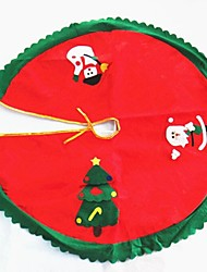 Christmas Tree Skirt Decoration Santa Claus Diameter 90CM High Quality