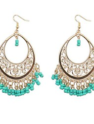 cheap -Women's Tassel Bohemian Turquoise Drop Earrings - Tassel Bohemian European N / A For Holiday