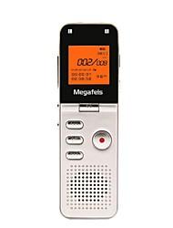 Недорогие -megafeis 8gb 50m междугородной профессиональный цифровой диктофон / PCM mp3 / DSP / времени / один ключ записи