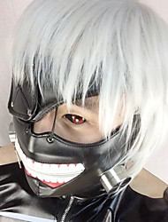 Mask Inspired by Tokyo Ghoul Cosplay Anime Cosplay Accessories Mask Black Leather Male / Female