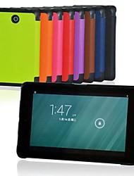 8-Zoll drei Faltungsmuster PU-Lederetui mit Stativ für Dell Venue 8 (farblich sortiert)