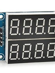 """abordables -5v numérique 0,36 à 2 canaux à 4 chiffres module """"sept segments d'affichage"""
