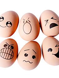Недорогие -домашние тренировки игрушка яйцо форма резина бодрый шар ассорти доставка